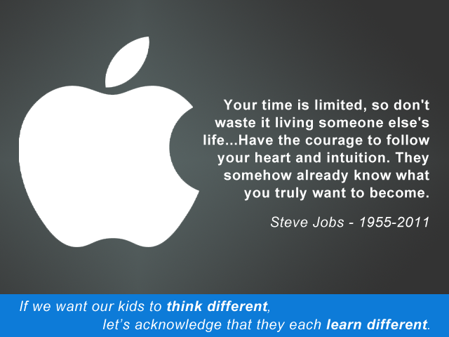 Think Different...Learn Different